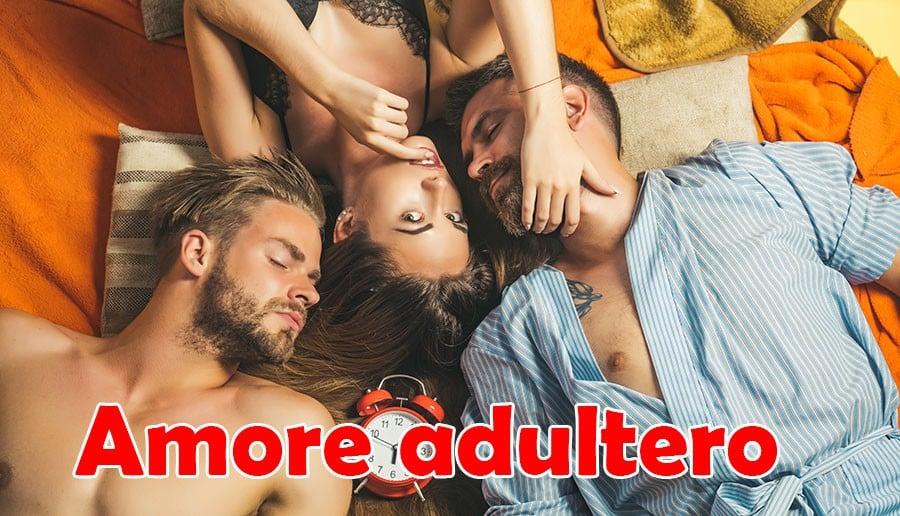 adultera con due uomini
